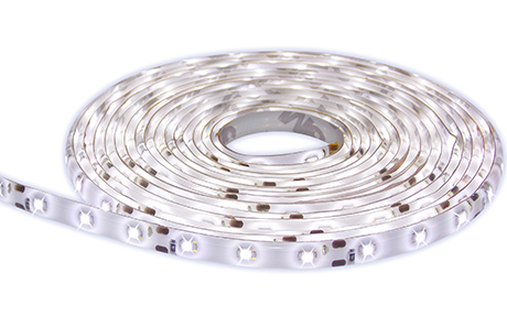 Fita De Led 12V Branco Quente IP65 LED3528 Rolo 5 Metros