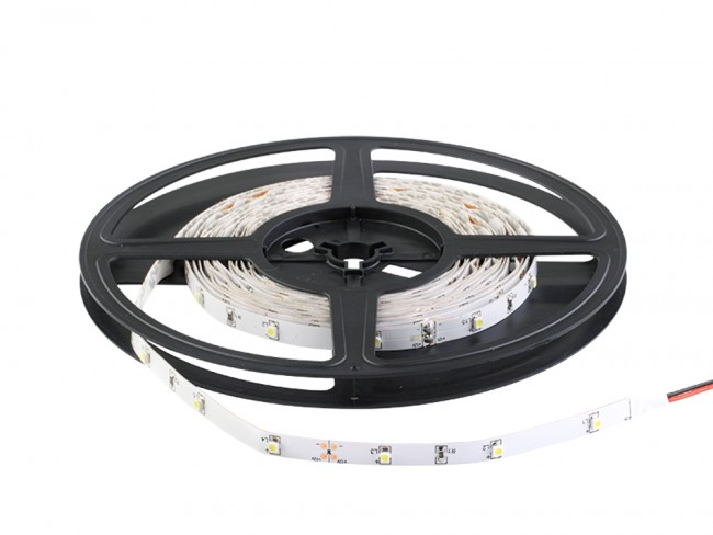 Fita De Led 12V Verde IP20 LED3528 Rolo 5 Metros