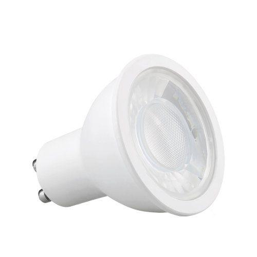 Kit 02x Spot Embutir Branco + Lâmpada MR16 4,8W 2700k Save Energy