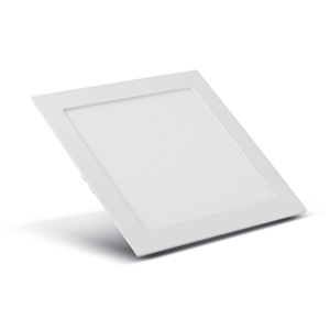 Kit 04x Plafon Led 20w 4000k Luz Neutra Embutir Quadrado 22,5cm Save