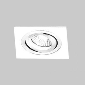 Kit 04x Spot Embutir Ar70 Quadrado Branco Ns5701b Bella