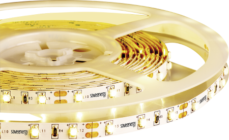 Kit 6x Fita de LED 5M 4,8W/M 3000K 12V IP20 Save Energy