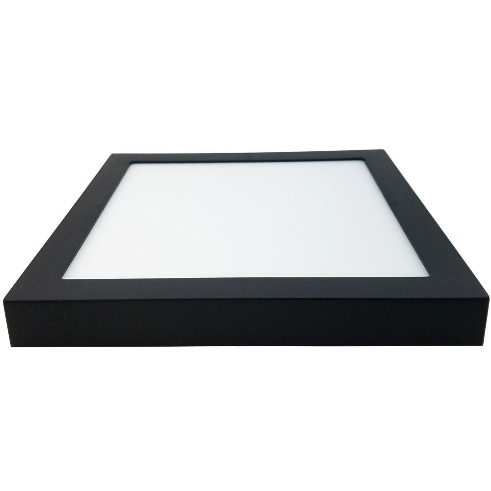 Kit Spot + Plafons de LED Preto 3000k - Save Energy