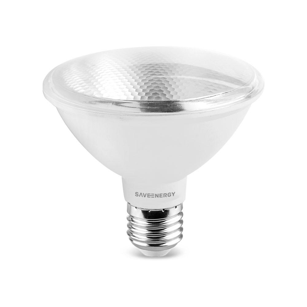 Lâmapda PAR 30 10W 4000K Luz Neutra IP54 Uso Externo Bivolt Save Energy