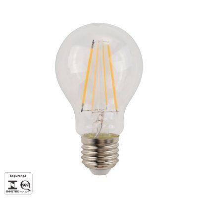 Lâmpada A60 Filamento Vintage Led 4,8W 2700K Bivolt Bella LP186C