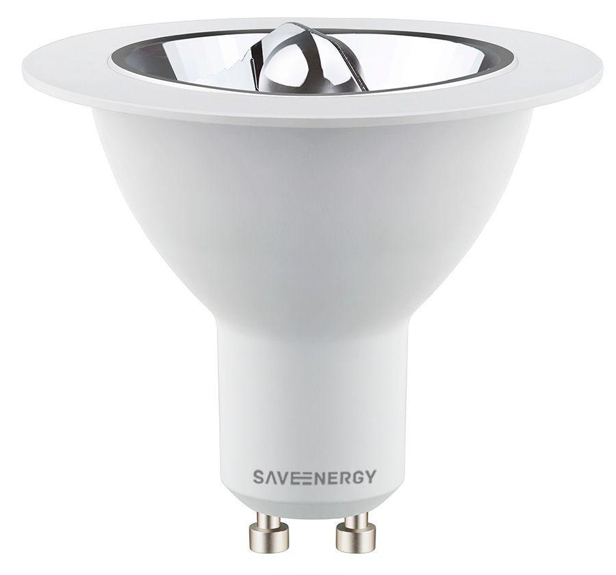 Lâmpada AR70 LED 4,8w 2700k Refletora Bivolt Save Energy
