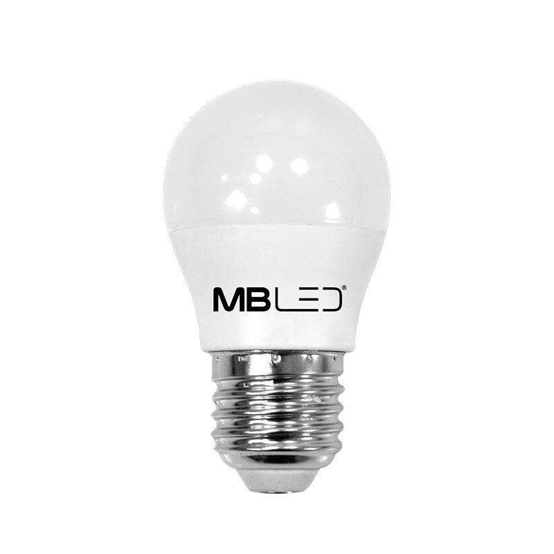 Lâmpada Bolinha G45 LED 5W 6500K Luz Branca Bivolt