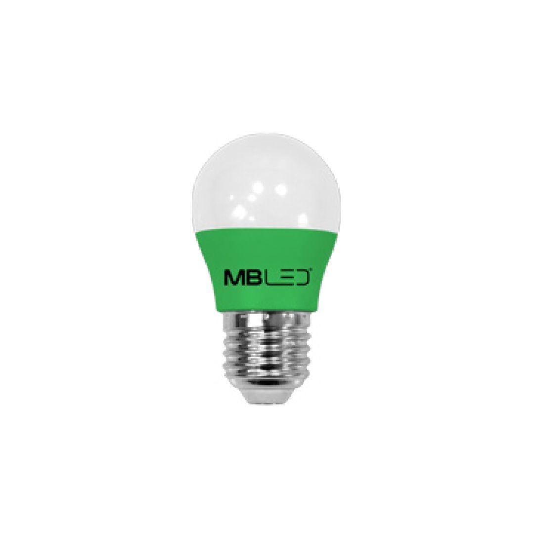 Lâmpada Bolinha G45 LED 5W Verde Bivolt