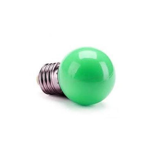 Lâmpada Bolinha LED Verde 1W 220V Embu LED