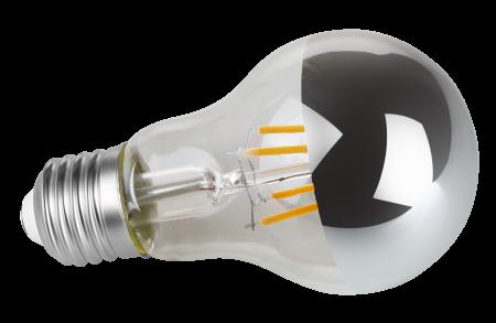 Lâmpada Bulbo Filamento LED Espelhada Vintage 4w 2200k Bivolt Save Energy