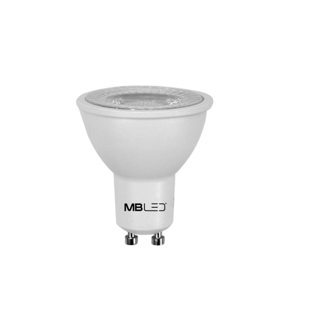 Lâmpada Dicroica MR16 Led 6W Dimerizável 3000K 220V Branco Quente
