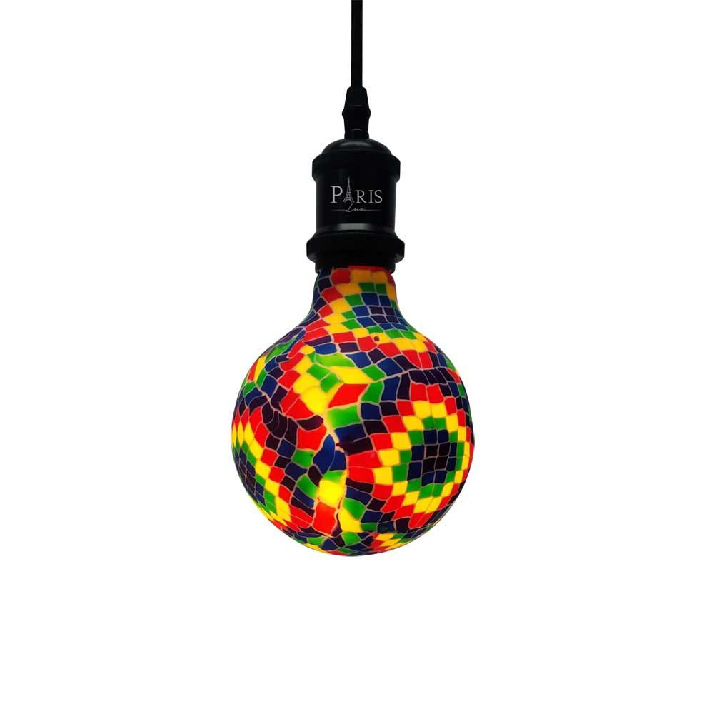 Lâmpada Filamento LED 4W E27 Rubik G128 2200K Bivolt