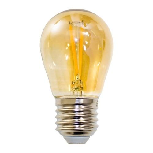 Lâmpada Filamento LED LED Bolinha G45 2W 2200K Delis