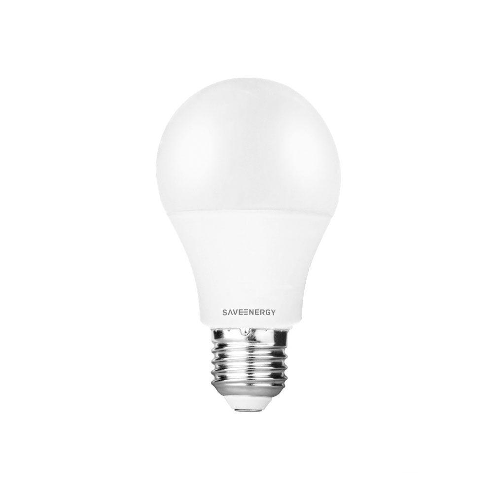 Lâmpada Led Bulbo A60 9,5W 6000K Bivolt Save Energy