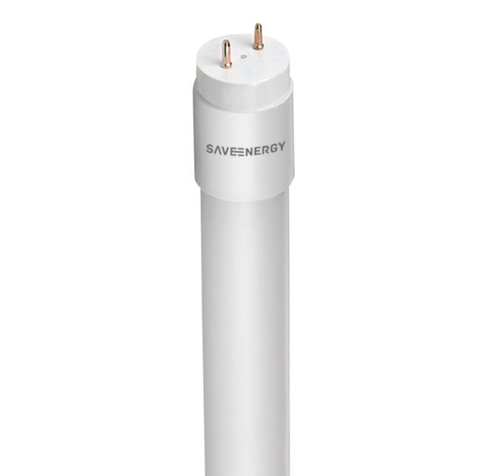 Lampada LED Tubular Vidro 3000k Luz Amarela 60CM 10W Save Energy