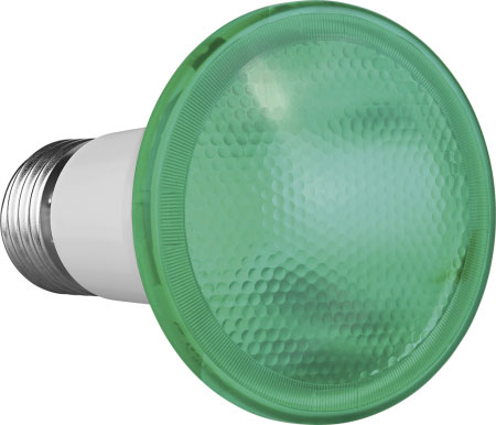 Lâmpada PAR 20 7W Verde IP54 Uso Externo Bivolt Save Energy