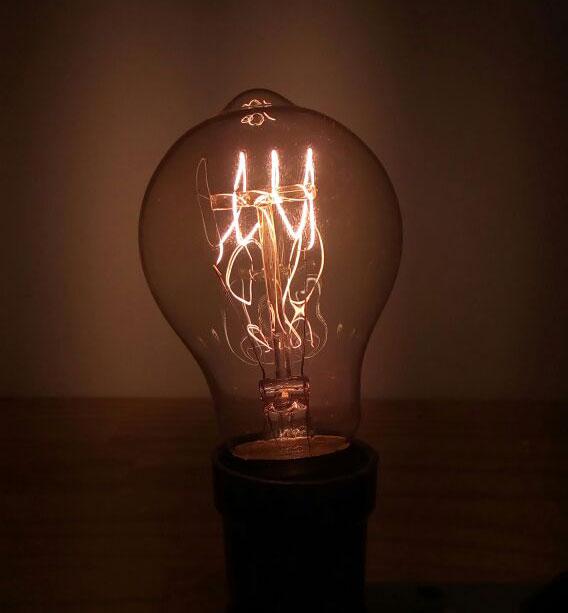 LAMPADA VINTAGE - FILAMENTO DE CARBONO - A60 40W 127V E27 ALTALUCE