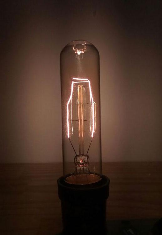 Lâmpada Vintage - Filamento De Carbono - T32 40W 220V E27 Altaluce