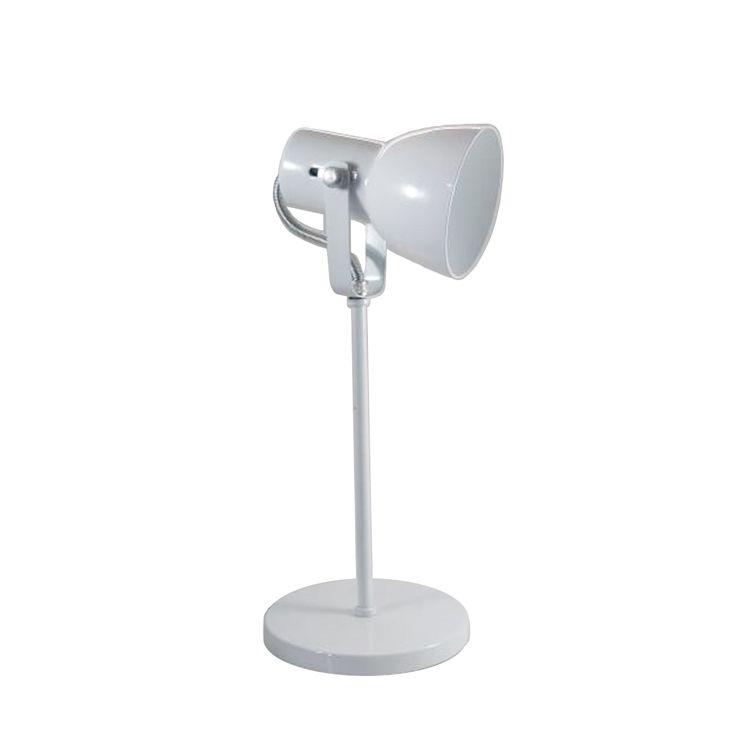 Luminaria De Mesa Abajur Branca 1E27 SP110/BC Kin Light