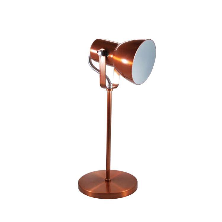Luminária De Mesa Abajur Cobre 1e27 SP110/CO Kin Light