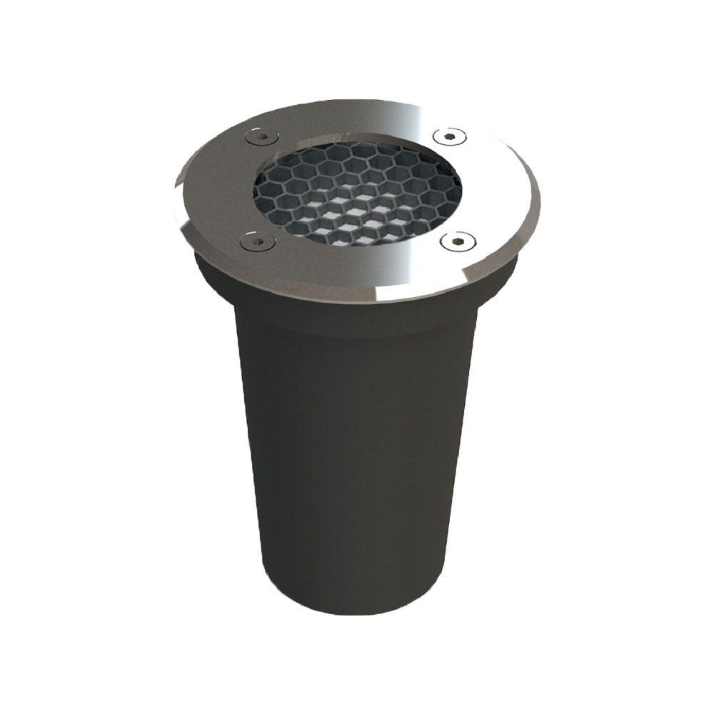Luminária Embutido De Solo Led Redondo 6W IP67 2700K Inox Bivolt Save Energy