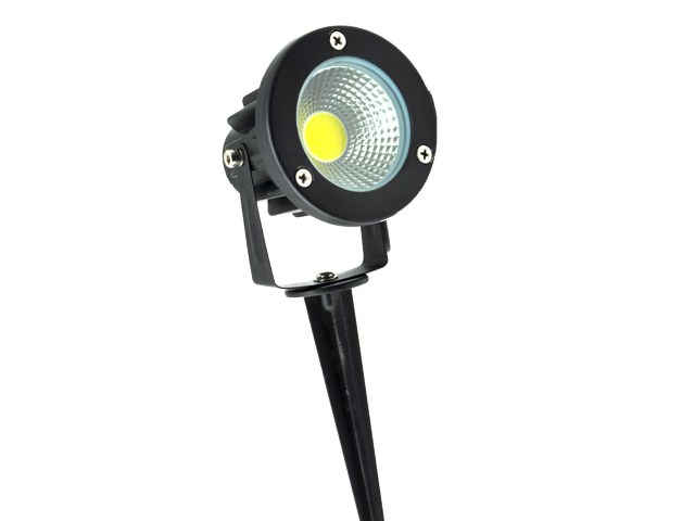 LUMINÁRIA ESPETO PARA JARDIM LED 7W VERDE IP65 EMBU LED