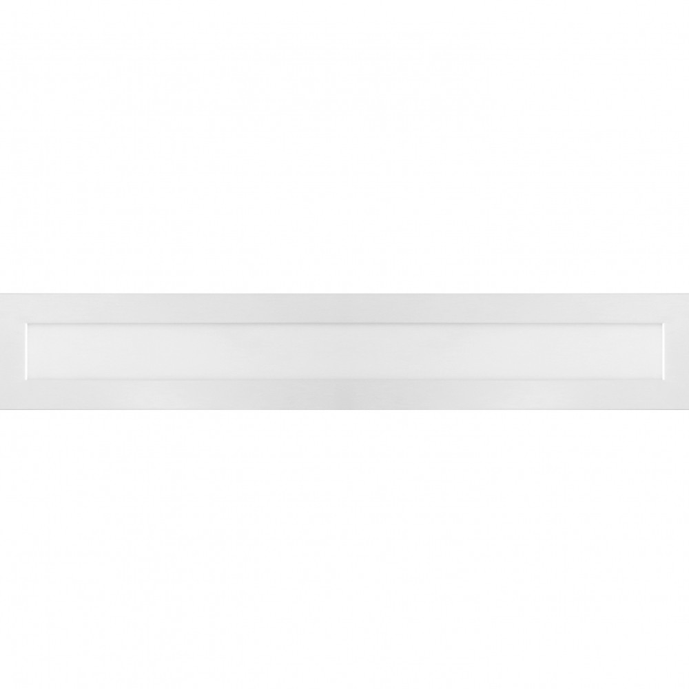 Luminaria Plafon Retangular Embutir Led 18W Bivolt 10X60CM 6000K DL123CW Bella