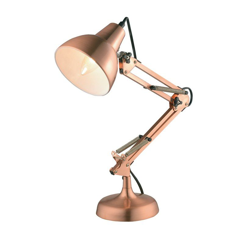 Luminaria Mesa Abajur Pixar Cobre 1E27 13,5x53cm New Line