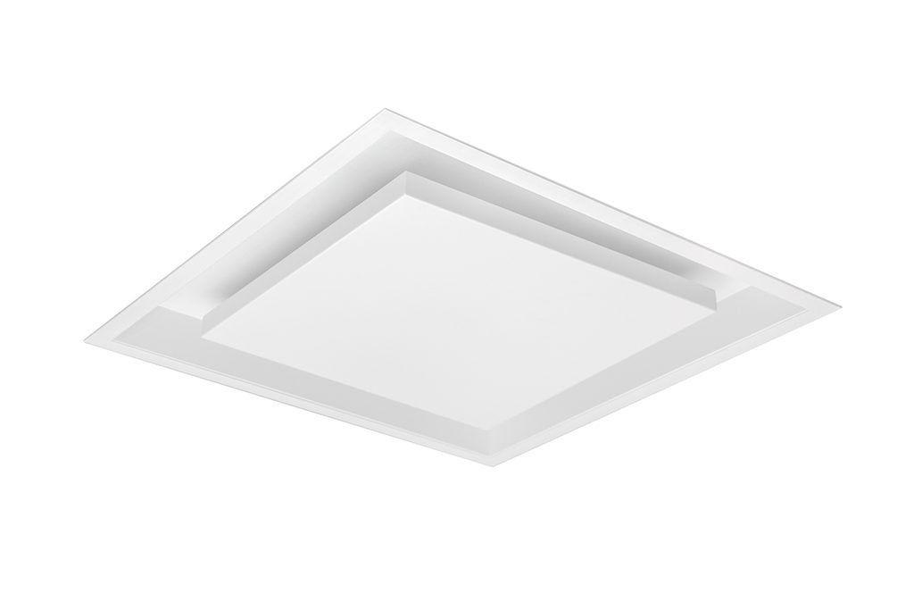 Luminária Plafon de Embutir Luz Indireta Grus Quadrado 26x26cm 4G9 ACEND