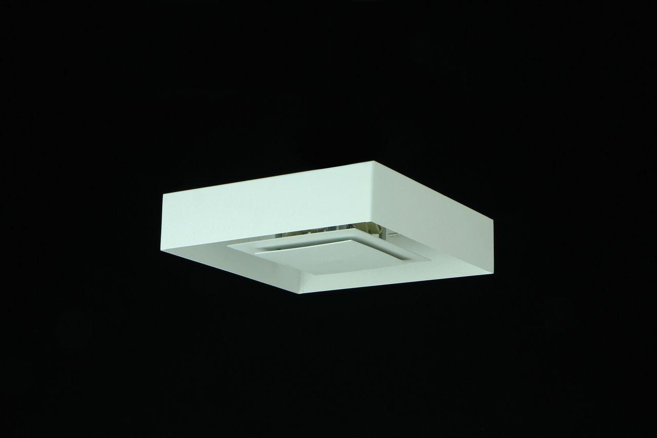 Luminária Plafon Luz Indireta Drone Sobrepor 50cm 4xG9 Real