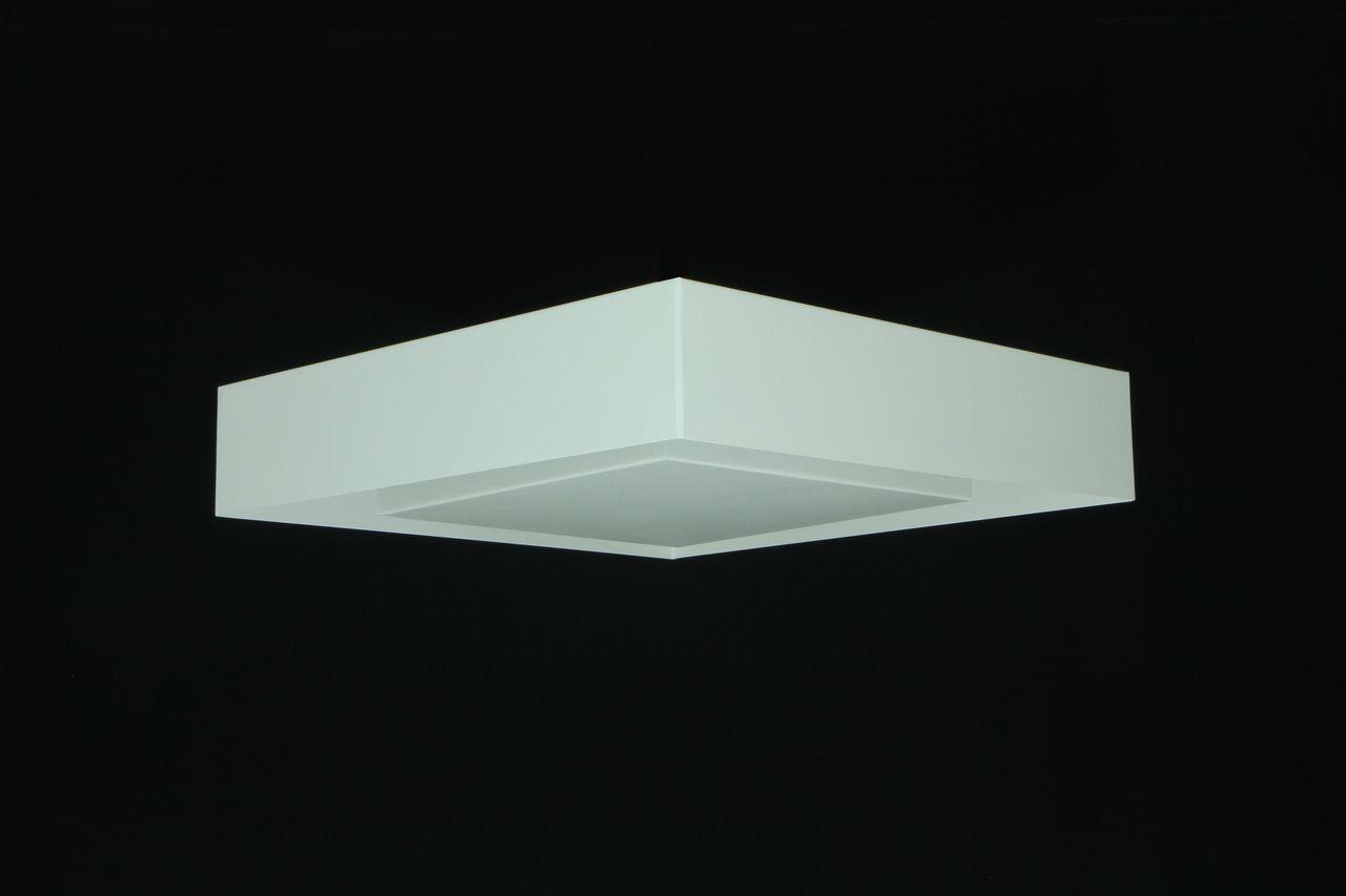 Luminária Plafon Luz Indireta Sobrepor 50cm 8xG9 Real