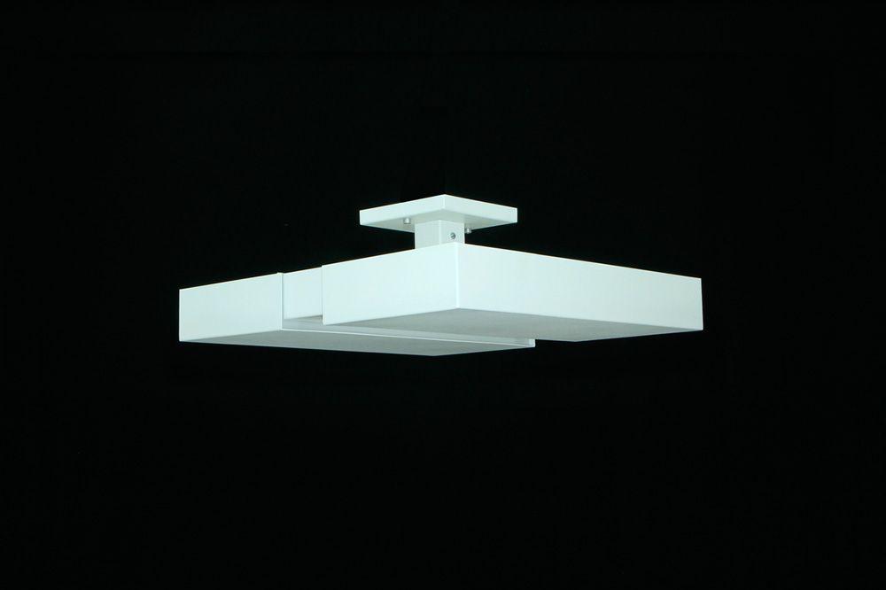Luminária Plafon Luz Indireta Sobrepor Luxo 50cm 4E27 Real