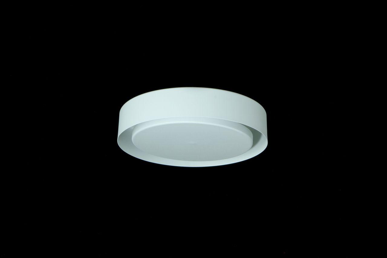 Luminária Plafon Luz Indireta Sobrepor Redondo 33cm 3xG9 Real