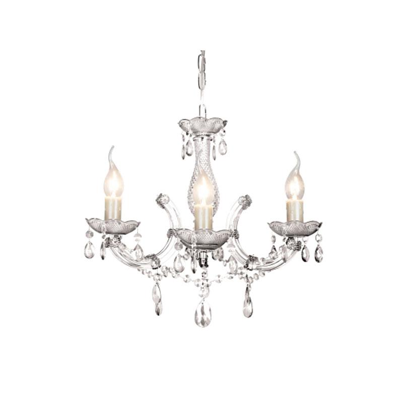 Lustre Duchessa Cristal Transparente 3E14 KH1063 Bella