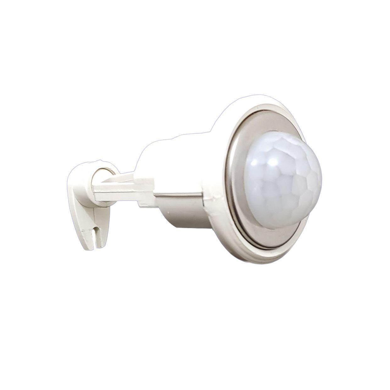 Mini Sensor De Presença Sobrepor Com Fotocelula 3,2x2,7CM ASU-10/SOB Authome