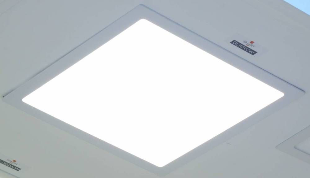 Painel Luminária Led Branco Neutro 30W 40x40CM Embutir 4000K DL113WW Bella