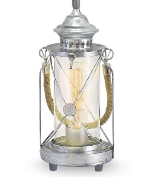 Pendente Bradford Lanterna Classica Com Corda 1E27 49214V Newline