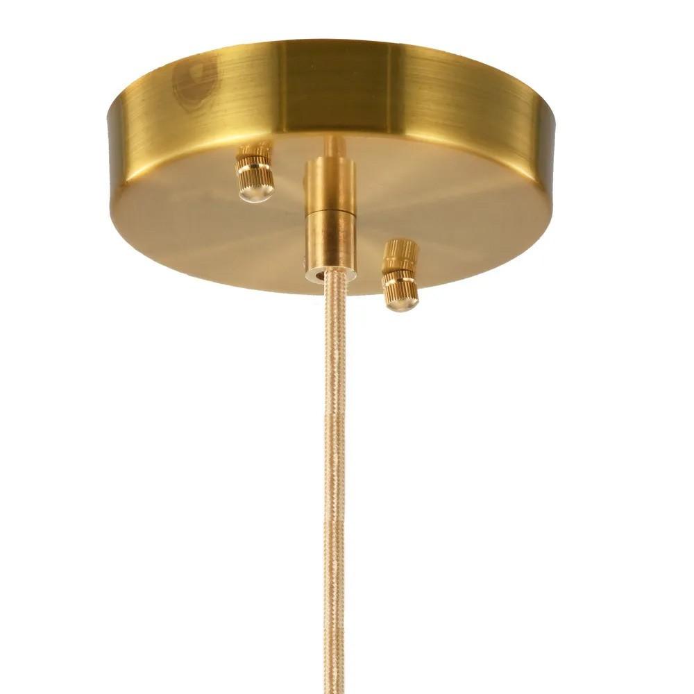 Pendente Filo 18x30cm 1G9 Bronze/Transparnte RZ006 Bella