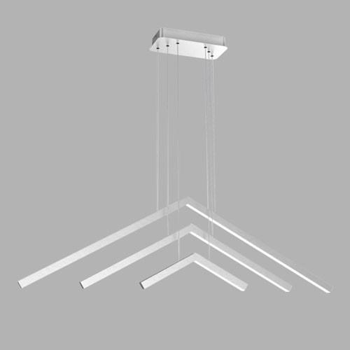Pendente Hale Branco LED 43W 3000K Bivolt