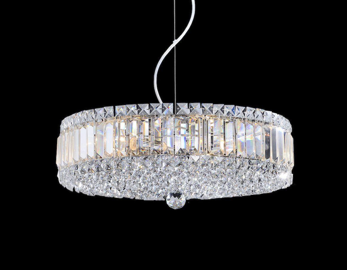 Pendente Ravena Cristal 50x14,4CM 6E14 1024