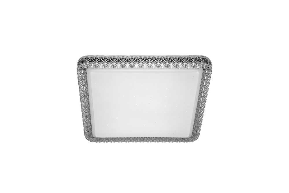 Plafon Cristal Transparente LED 24W 40cm 6000K Bivolt