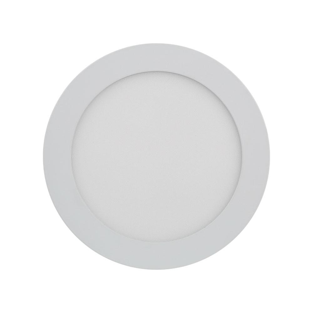 Plafon Led 18W 5700K Luz Branca Embutir Redondo 22,5CM Save Energy