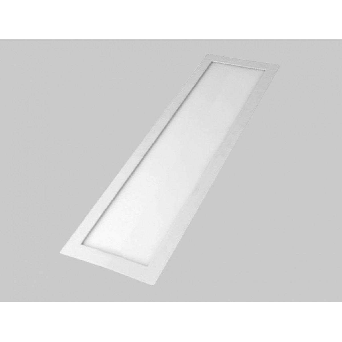 Plafon LED 36W Embutir Retangular 30X60 3000K DL125WW Bella