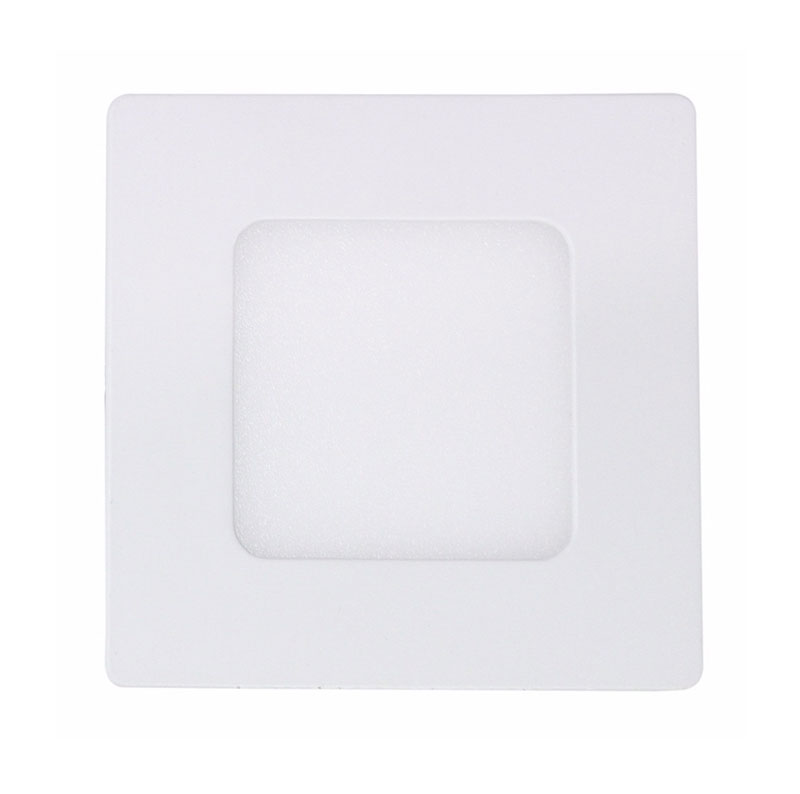 Plafon Led Embutir Quadrado 8,5CM 3W 3000K Bella DL110WW