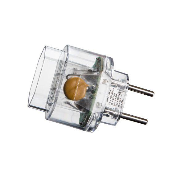 Plug Protetor Portátil De Surto 2p Para Equipamentos Eletrônicos Margirius