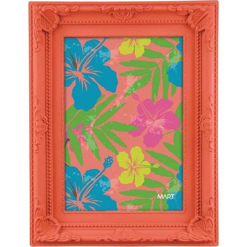 Porta Retrato Vermelho Neon Para Foto 13X18CM 5534