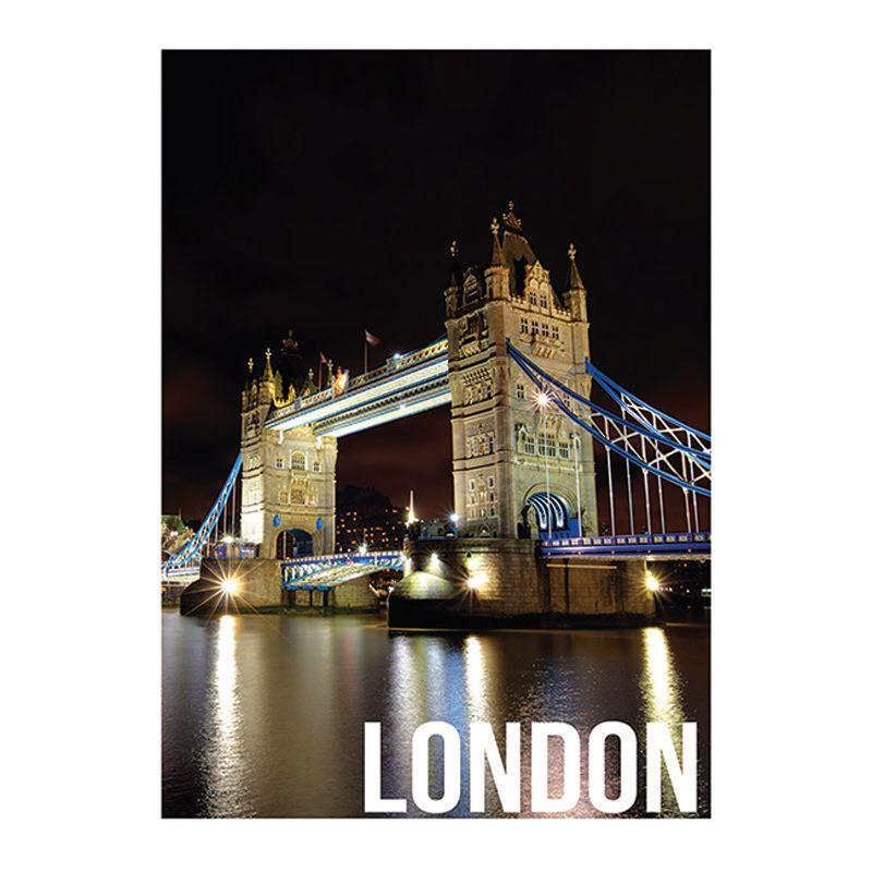Quadro Decorativo London Night Lights 50x70cm Btc