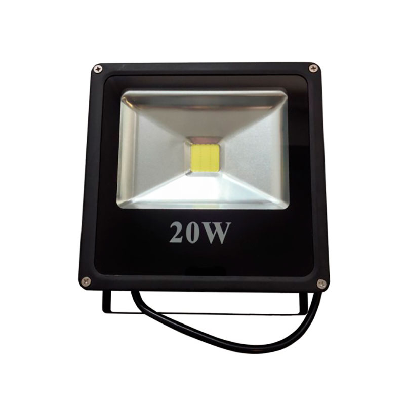 REFLETOR LED 20W 3000K SLIM EMBU LED