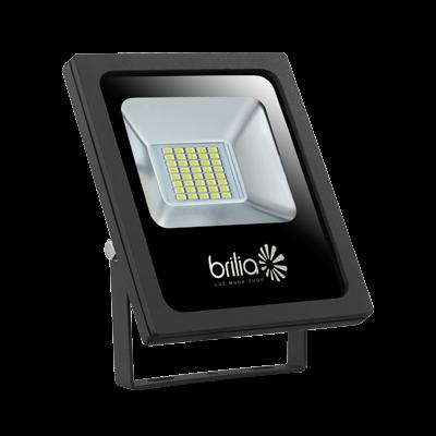 REFLETOR LED 30W 6500K IP65 BIVOLT SLIM BRILIA