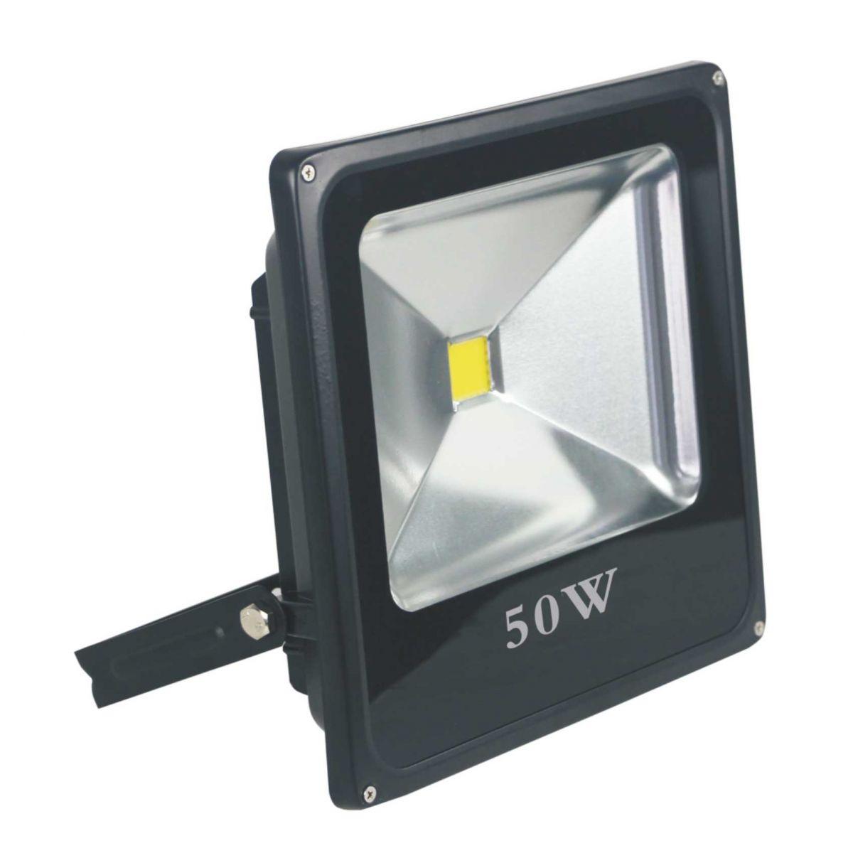 REFLETOR LED 50W VERDE EMBU LED